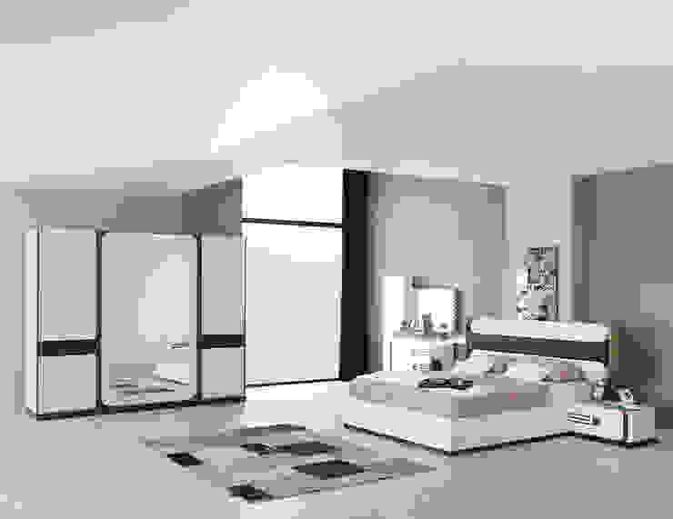 Mahir Mobilya – Modern Yatak Odası Takımları: modern tarz , Modern