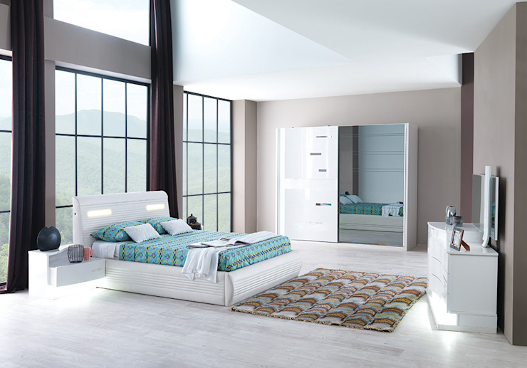 Mahir Mobilya – Yatak Odası Modelleri: modern tarz , Modern