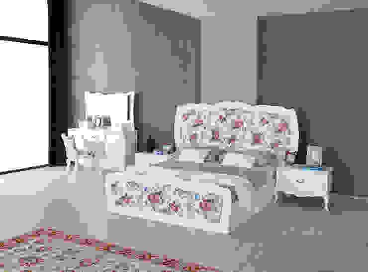 Country yatak odası Mahir Mobilya Rustik