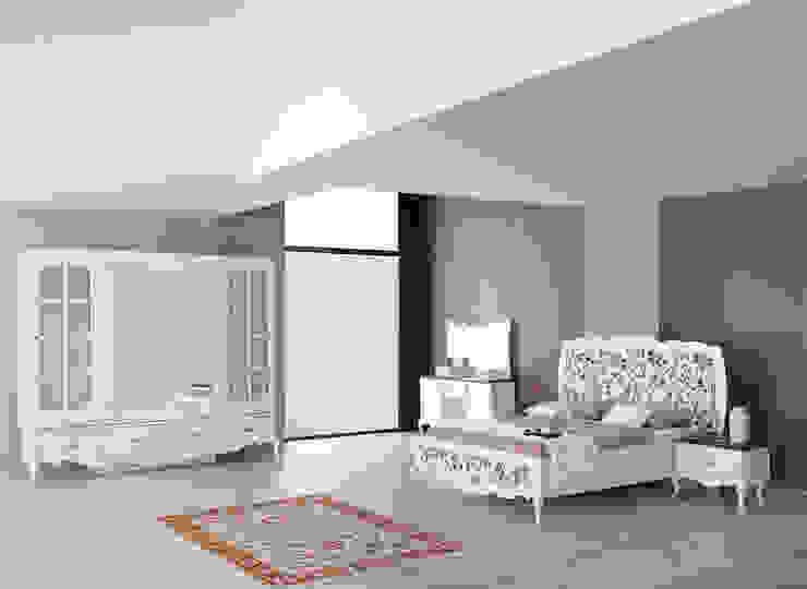 Country yatak odası modelleri Mahir Mobilya Rustik