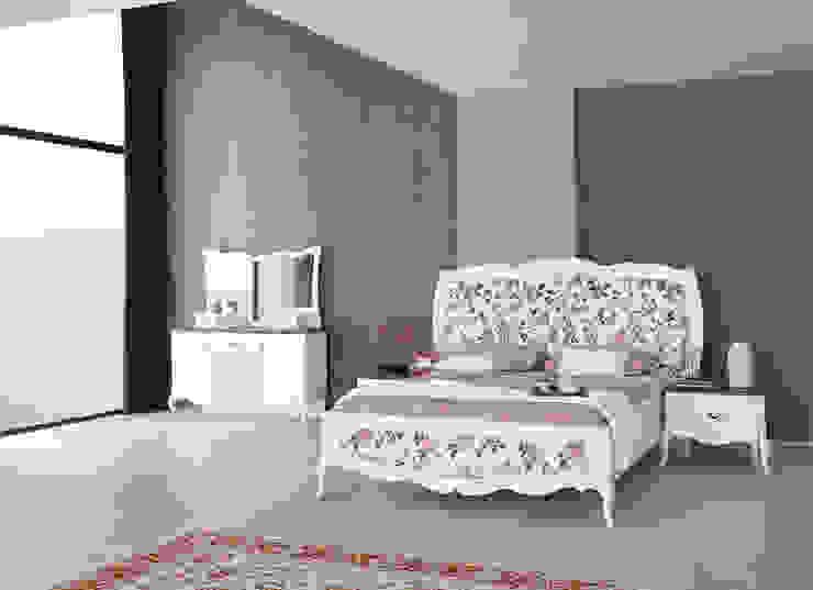 Rustik country yatak odası modelleri Mahir Mobilya Rustik