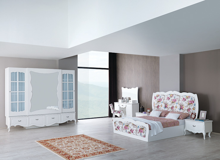 country mobilya yatak odası Mahir Mobilya Rustik