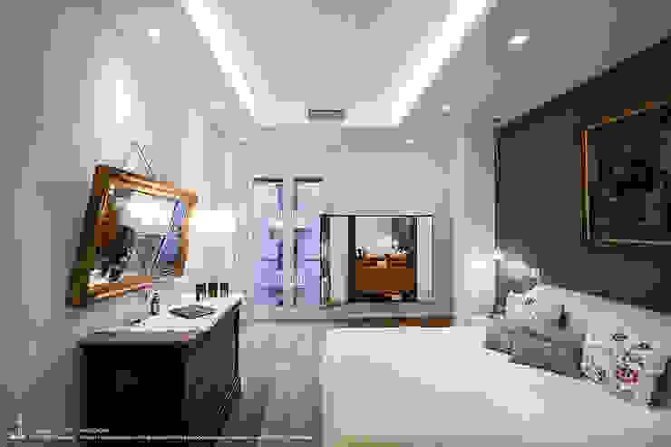 Appartamento #A76 Camera da letto moderna di Studio DiDeA architetti associati Moderno