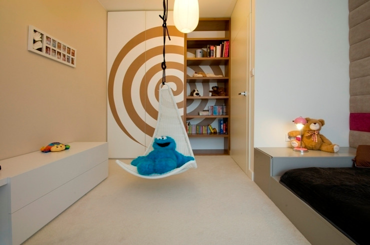 Apartament w Gdynia 2011 Skandynawski pokój dziecięcy od formativ. indywidualne projekty wnętrz Skandynawski