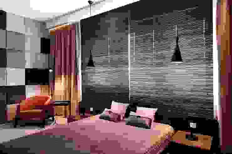 Dom prywatny 2012 Nowoczesna sypialnia od formativ. indywidualne projekty wnętrz Nowoczesny