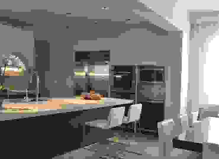 Rick & Garland's House | LAS VEGAS 1.0 Cucina moderna di Interni 44 di Silvia Camerotto Moderno