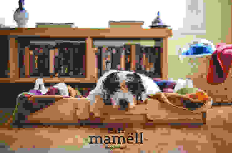 Cama para mascotas de Ein Mamëll Rústico