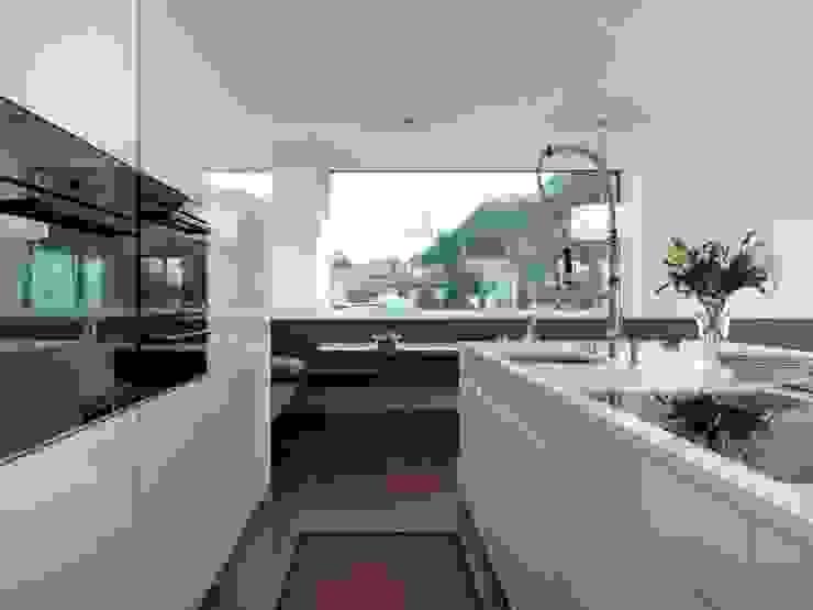 weiß hochglanz KÜCHENTREFF M. Liebold Moderne Küchen