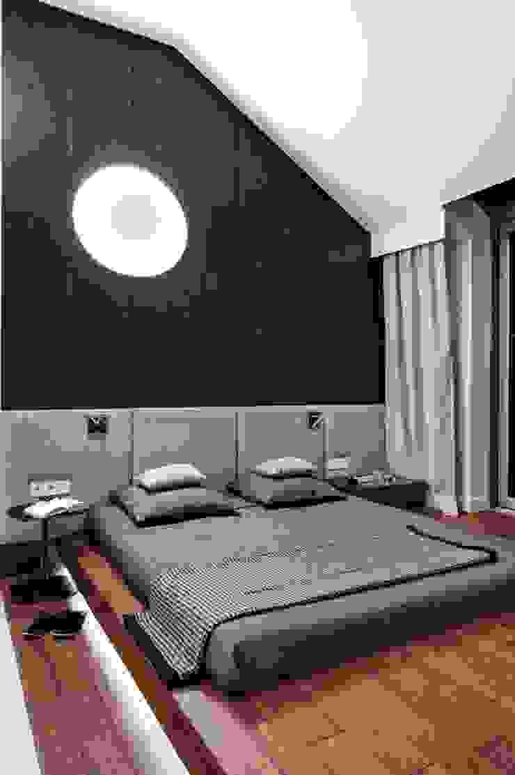 Industriale Schlafzimmer von formativ. indywidualne projekty wnętrz Industrial