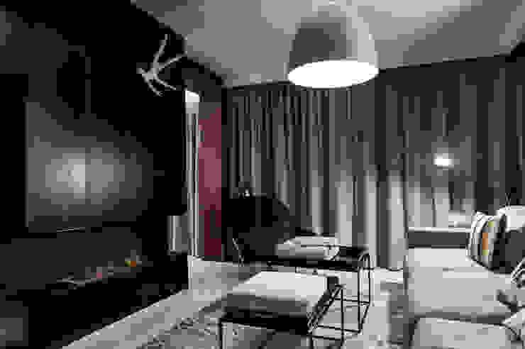 Apartament w Gdyni 2012 Nowoczesny salon od formativ. indywidualne projekty wnętrz Nowoczesny
