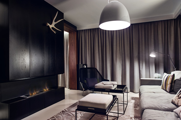 Гостиная в стиле модерн от formativ. indywidualne projekty wnętrz Модерн