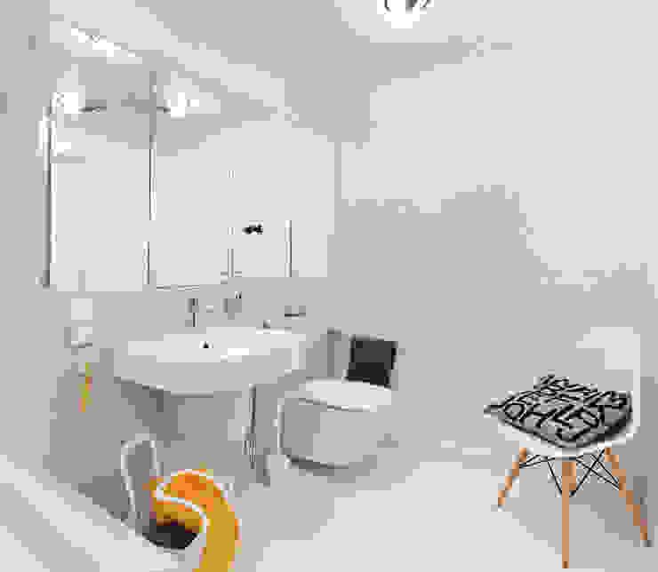 Apartament w Gdyni 2012 Nowoczesna łazienka od formativ. indywidualne projekty wnętrz Nowoczesny