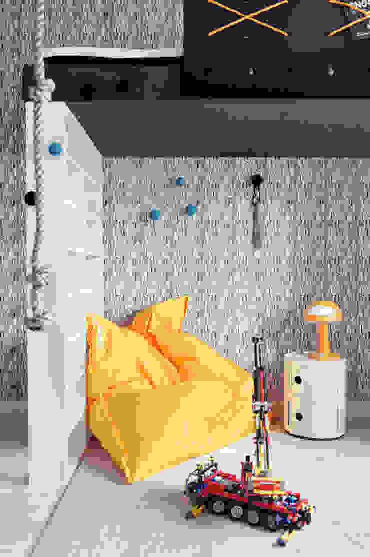 Apartament w Gdyni 2012 Skandynawski pokój dziecięcy od formativ. indywidualne projekty wnętrz Skandynawski