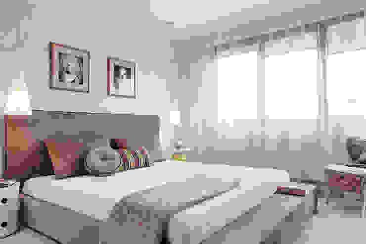 Apartament w Gdyni 2012 Nowoczesna sypialnia od formativ. indywidualne projekty wnętrz Nowoczesny