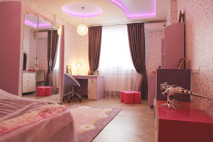 Klasyczny pokój dziecięcy od meandr.pro Klasyczny