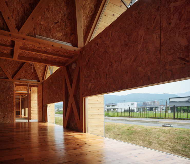 T-NURSERY オリジナルデザインの 子供部屋 の 内田貴久建築設計事務所 オリジナル