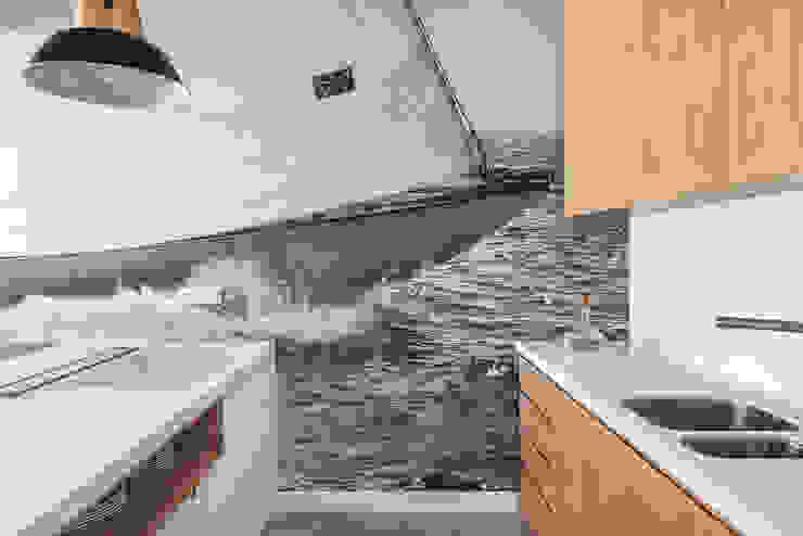 Dom w Gdyni 2015 Skandynawska kuchnia od formativ. indywidualne projekty wnętrz Skandynawski
