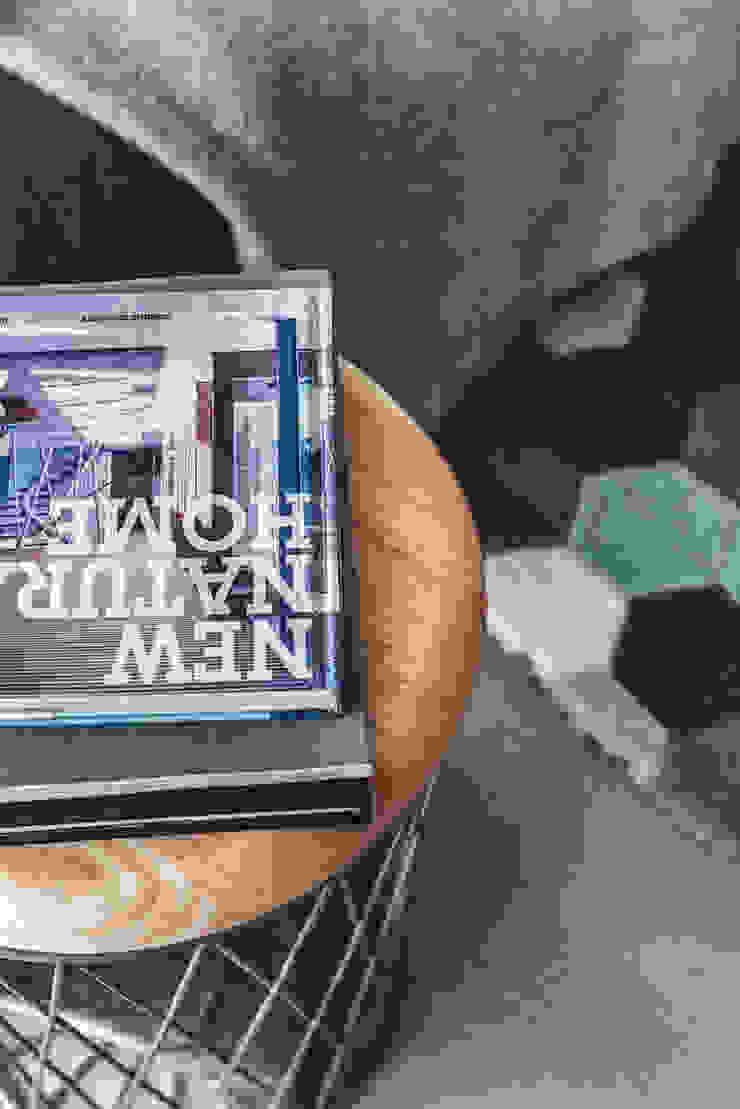 Dom w Gdyni 2015 Skandynawski salon od formativ. indywidualne projekty wnętrz Skandynawski