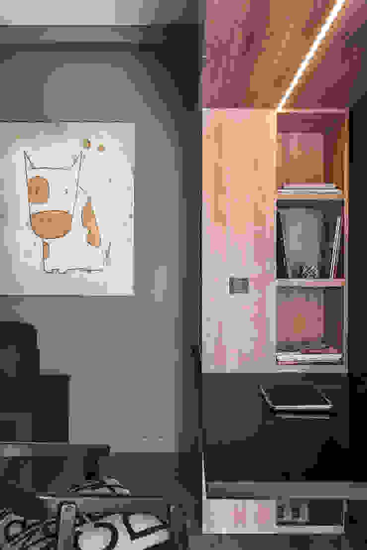 Dom w Gdyni 2015 Skandynawskie domowe biuro i gabinet od formativ. indywidualne projekty wnętrz Skandynawski