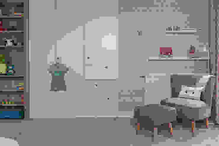 Dom w Gdyni 2015 Skandynawski pokój dziecięcy od formativ. indywidualne projekty wnętrz Skandynawski