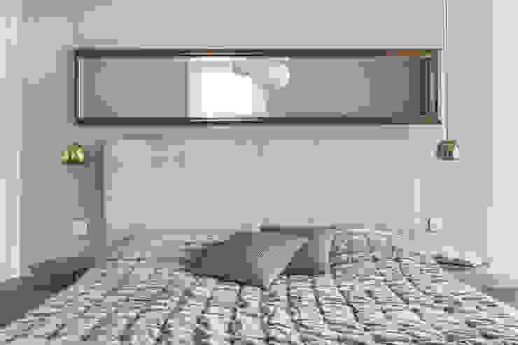 Dom w Gdańsku 2014: styl , w kategorii Sypialnia zaprojektowany przez formativ. indywidualne projekty wnętrz,Nowoczesny