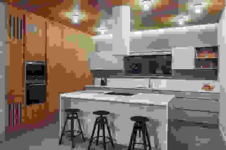 Industriale Küchen von formativ. indywidualne projekty wnętrz Industrial