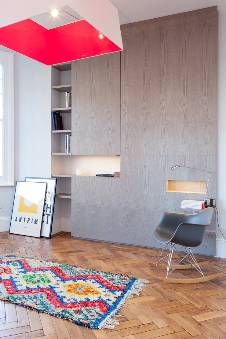 FC Residence I Modern study/office by deDraft Ltd Modern