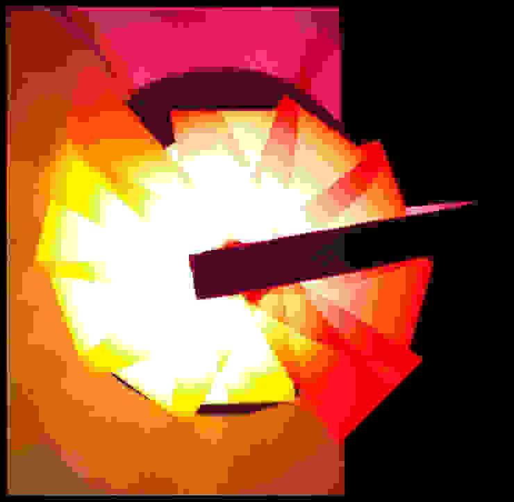 Grand modèle - Lampe de salon par homify Éclectique