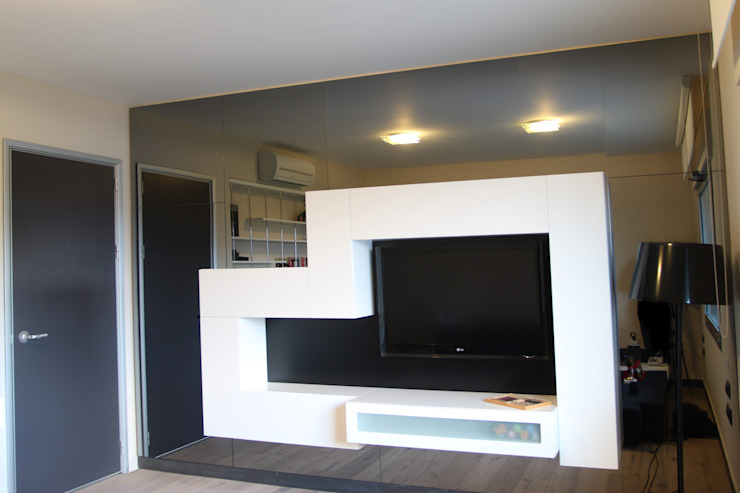 Dormitorios de estilo moderno de As Tasarım - Mimarlık Moderno
