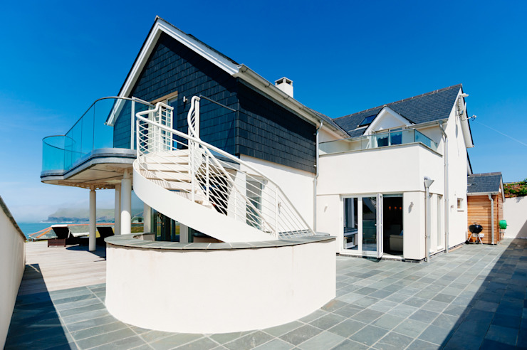 Seagrass, Polzeath, Cornwall Casas modernas: Ideas, imágenes y decoración de The Bazeley Partnership Moderno