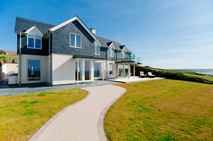 Seagrass, Polzeath, Cornwall Casas modernas de The Bazeley Partnership Moderno