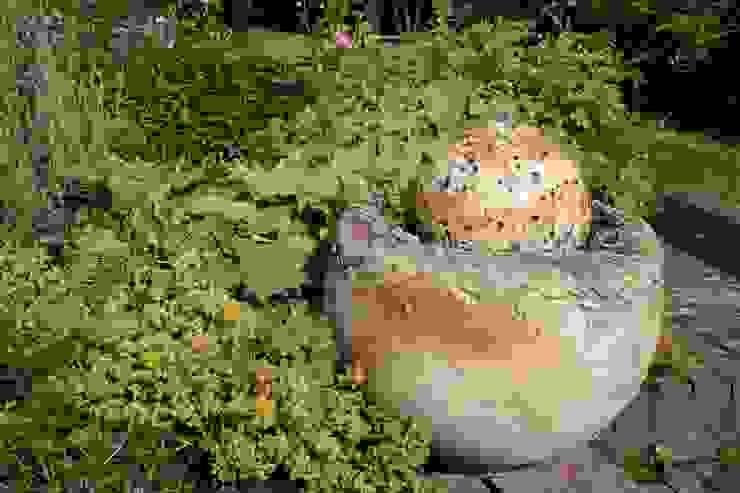 Tuinfonteinen van Pottenbakkerij Heksenvuur Landelijk