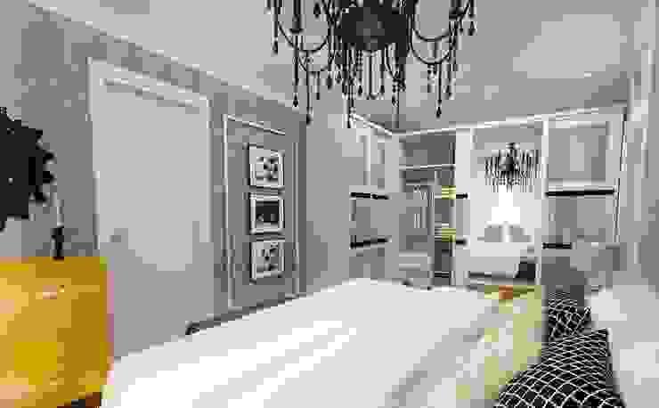 Ispartakule'de bir daire Modern Yatak Odası İdea Mimarlık Modern