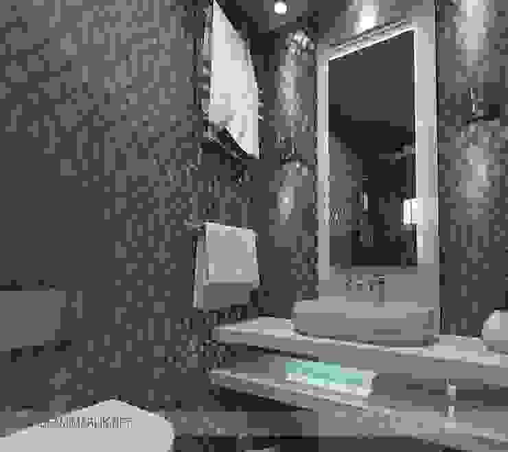Ispartakule'de bir daire Modern Banyo İdea Mimarlık Modern