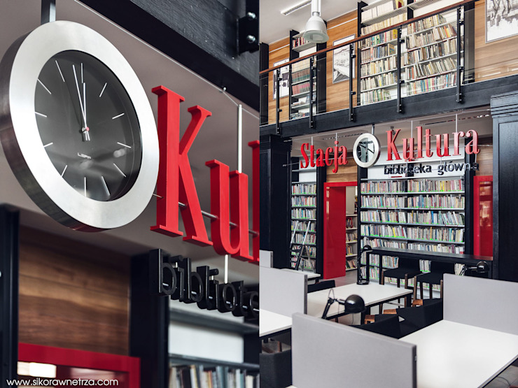 Sikora Wnetrza Office spaces & stores