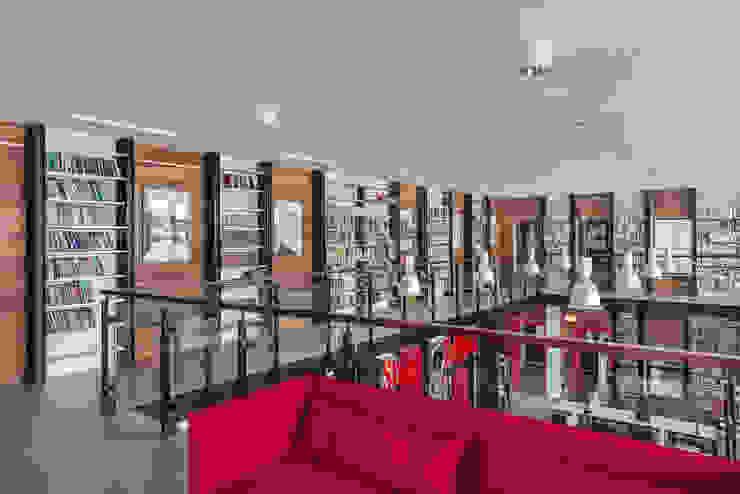 Sikora Wnetrza Salones de eventos de estilo ecléctico