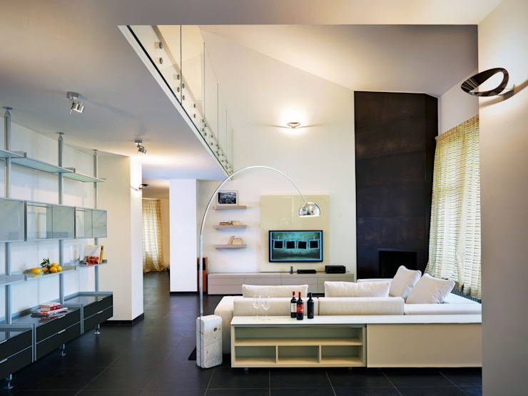 Living room by Studio Marco Piva, Modern