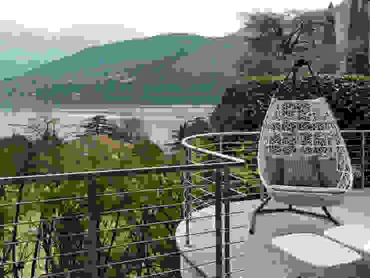 Balcon, Veranda & Terrasse modernes par Studio Marco Piva Moderne
