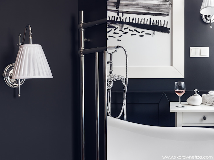 APARTAMENT W SOPOCIE Klasyczna łazienka od Sikora Wnetrza Klasyczny
