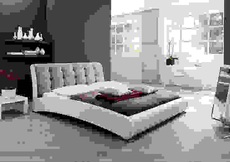 Łóżko PLAYA: styl , w kategorii Sypialnia zaprojektowany przez mebel4u,Nowoczesny