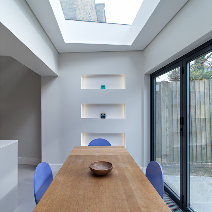 Highbury Town House APE Architecture & Design Ltd. Modern dining room