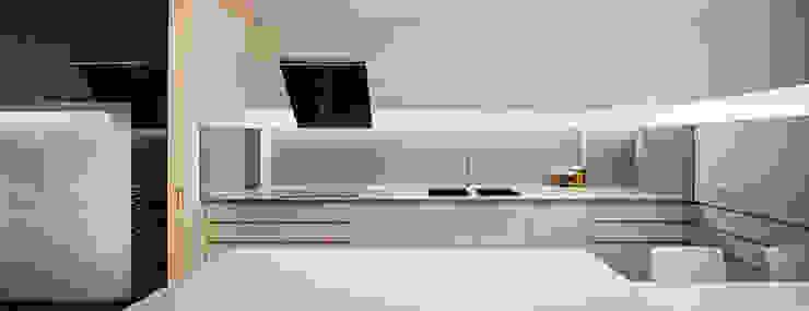 Casa GSX Cocinas de estilo moderno de Estudi Agustí Costa Moderno