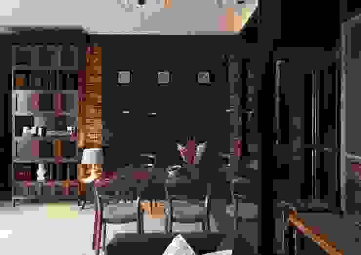 Sikora Wnetrza Salones de estilo industrial