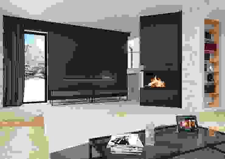Sikora Wnetrza Minimalist living room