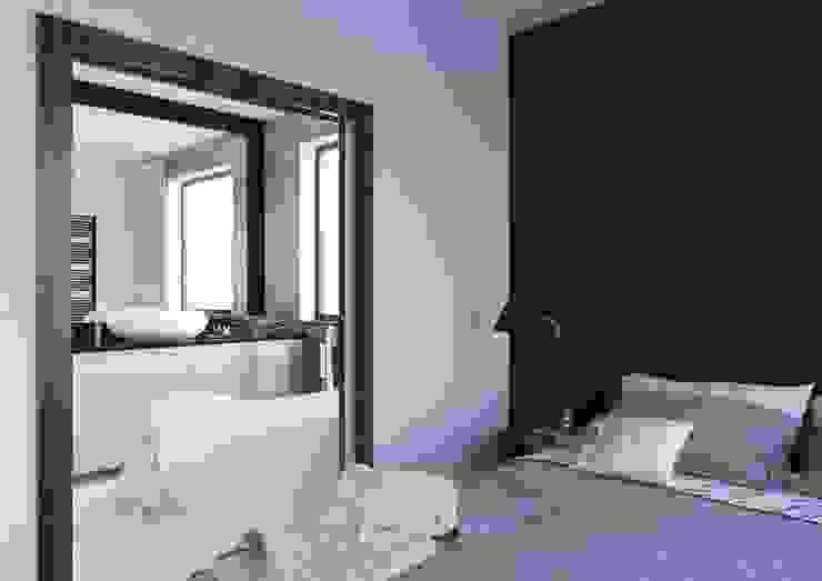 Sikora Wnetrza Dormitorios de estilo minimalista