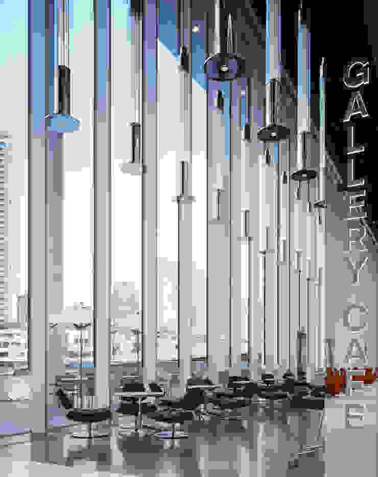 日産グローバル本社ギャラリー オリジナルな商業空間 の FUMITA DESIGN OFFICE INC. オリジナル