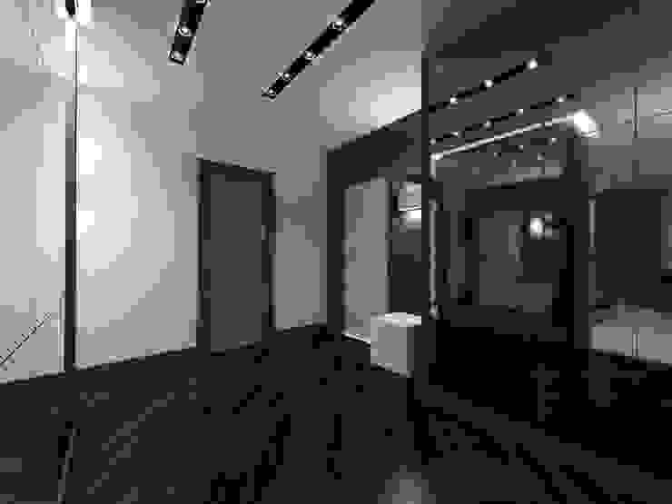 Прихожая Коридор, прихожая и лестница в стиле минимализм от Архитектурное бюро 'АрхСлон' Минимализм