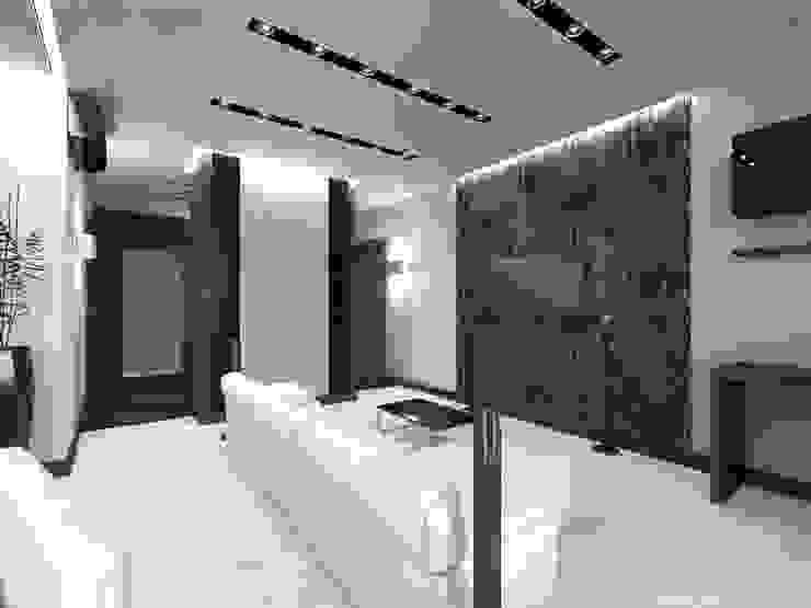 Гостиная Гостиная в стиле минимализм от Архитектурное бюро 'АрхСлон' Минимализм