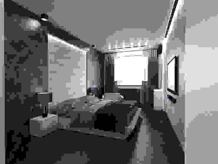 Спальня Спальня в стиле минимализм от Архитектурное бюро 'АрхСлон' Минимализм