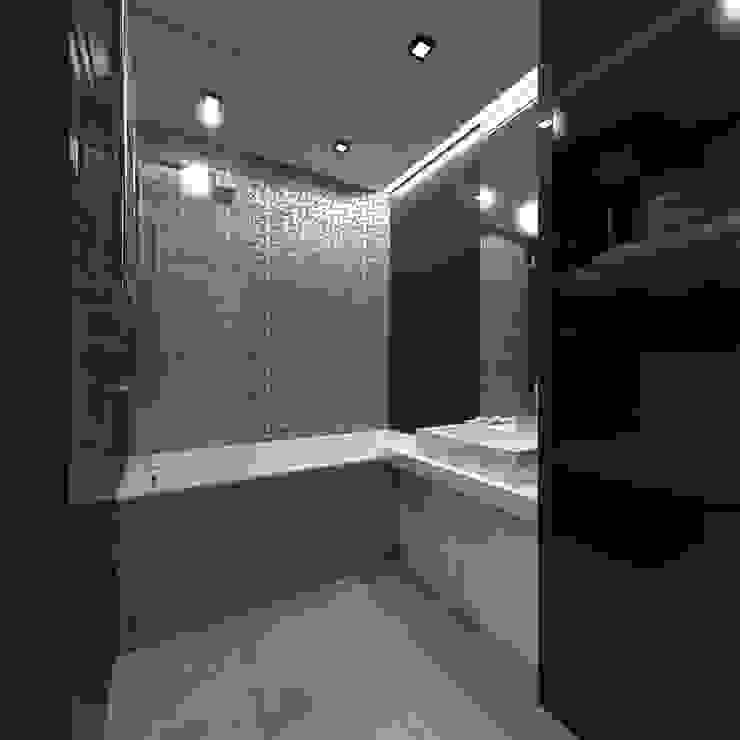 Ванная Ванная комната в стиле минимализм от Архитектурное бюро 'АрхСлон' Минимализм